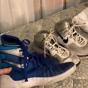 Nike Shoes - Two pairs of women's basketball shoes.